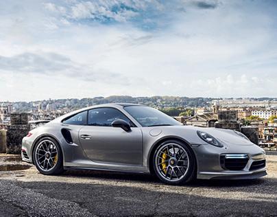 Porsche 911 Turbo S CGI