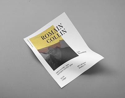 Romain Collin - series of poster design