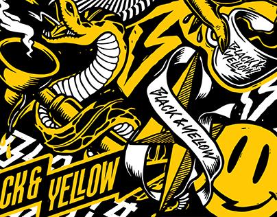 Black & Yellow coffeebar
