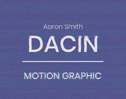 Dancin - Motion Graphic