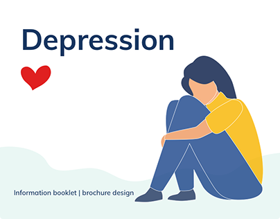 Depression | Visual design | Brochure design
