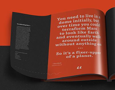 The Second Horizon — Publication Design
