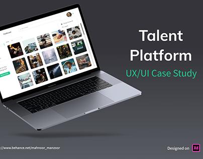 Talent Platform UX/UI Case Study