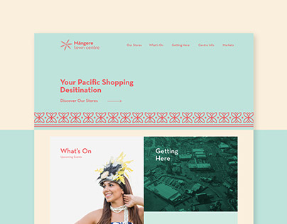 Mangere Town Centre - Website