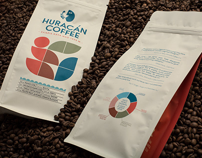HURACÁN COFFEE packaging