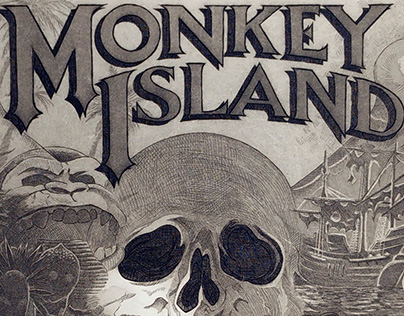 The Secret of Monkey Island Print