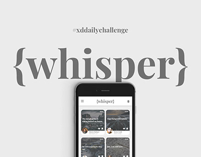 XD Daily Challenge DAY01 : Pull-to-Refresh {whisper}