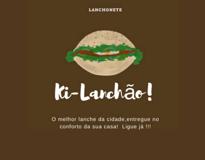 Logo Lanchonete