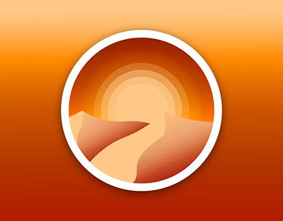 Desert Dunes Badge