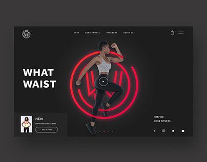 What Waist Ui/UX Design