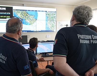Reportage Protezione Civile Puglia