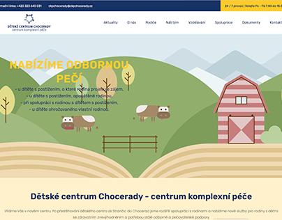 detskecentrumchocerady - website - in progress