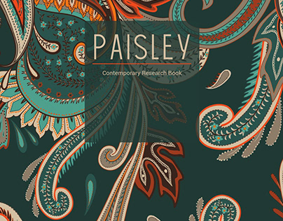 Paisley - Research Book and patterns