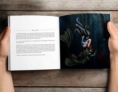Book Illustration for 'The Little Mermaid'