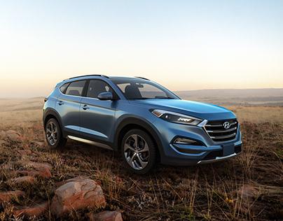 Hyundai Tucson CGI Compositing