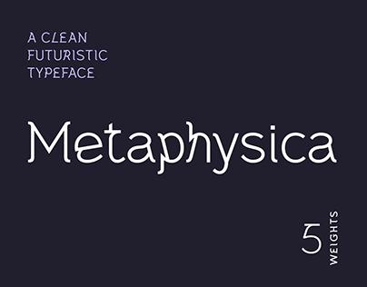 Metaphysica | A Futuristic Typeface