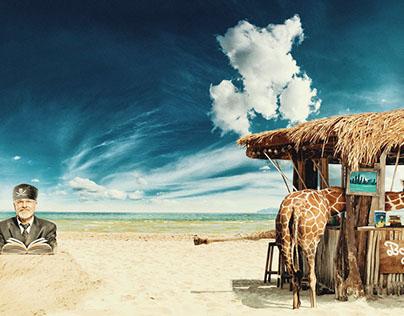 Beach book bar