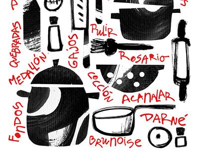 Técinas básicas para cocinar