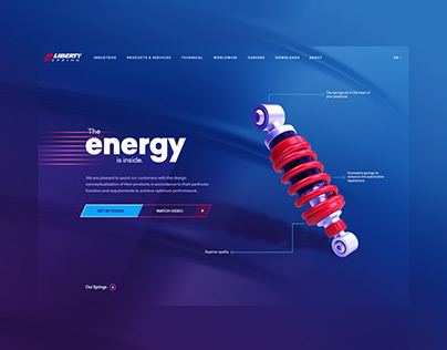 Liberty Spring - 2021 Website Concept