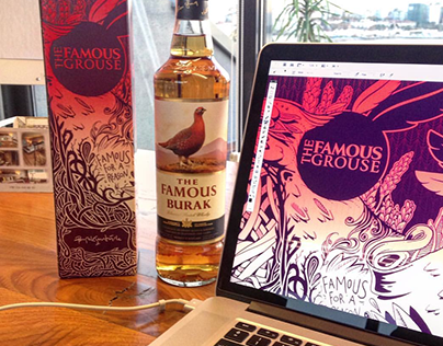 The Famous Grouse / Special Edition Package Design
