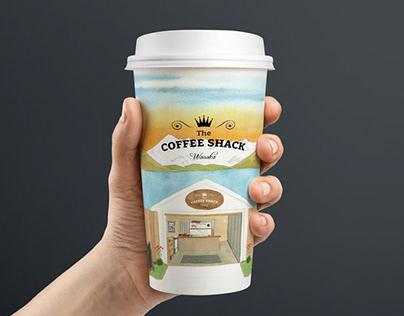 Coffee cup. Coffee Shack Wanaka, New Zealand