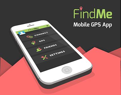 FindMe App UI Design + Branding