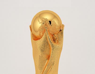 FIFA World Cup Trophy 3D Model