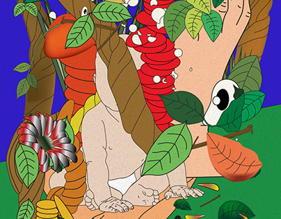 VICE magazine editorial - ayahuasca effects