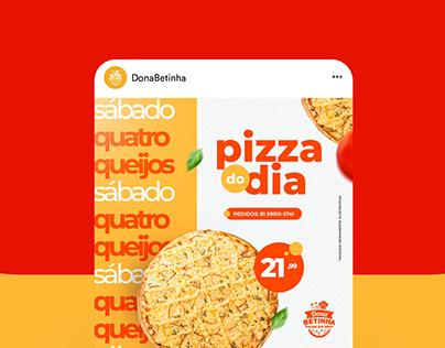DONA BETINHA // Campanha Pizza do Dia
