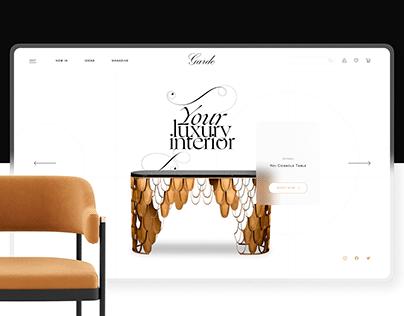 Garde Online Store