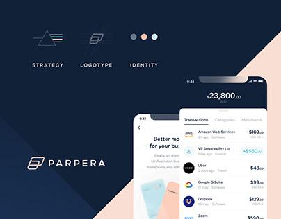 Parpera (Fintech) - Stylescape / Brand Identity / UI