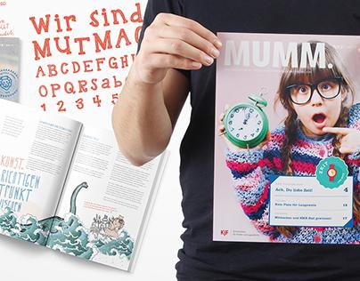 MUMM. Das KJF Magazin für Kinder und Jugendliche