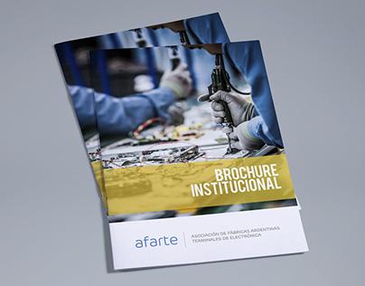 Afarte · Brochure Institucional