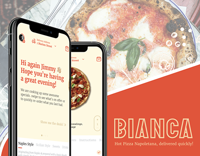 Hey Bianca - Pizza Ordering Mobile App