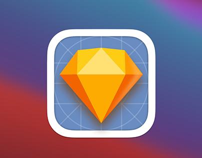 Sketch app Big Sur Icons