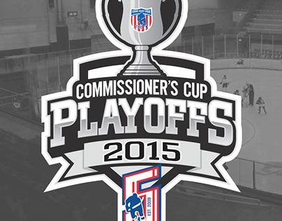 Official Federal Hockey League Playoff Logos (2015)