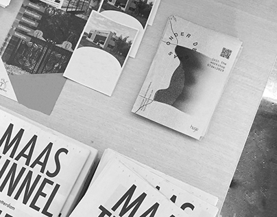 'Onder de Maas' graphic project