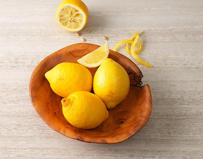 Bowl with fresh fruit