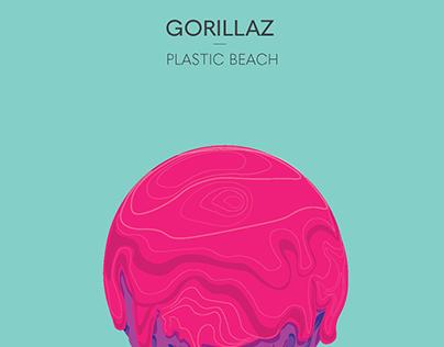 Gorrilaz - Plastic Beach Poster