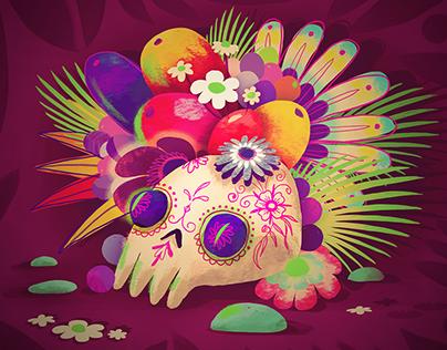 Calavera - Mexican skull