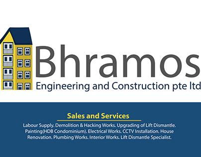 Construction Company Name card Design
