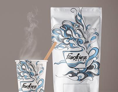 Coffee bag & cup packaging