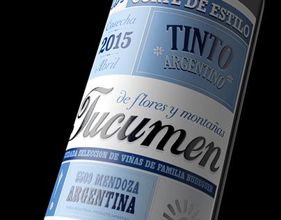 Tucumen tinto argentino (Budeguer wines)