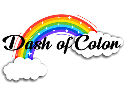 RAINBOW COLOR BUSINESS LOGO COMPLETED PROJECT :)