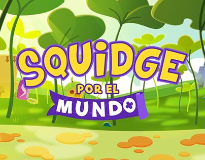 CBEEBIES SQUIDGE POR EL MUNDO