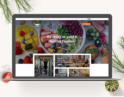 Healthy Food Provider's Website