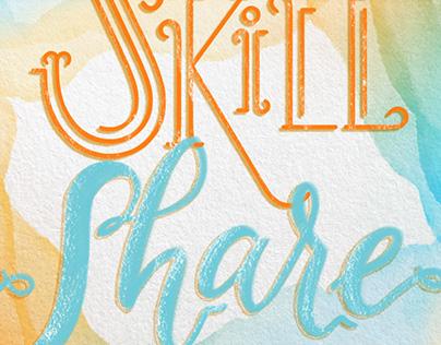 Skillshare Lettering Class
