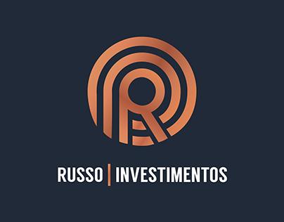 Logo e Papelaria - Russo Investimentos
