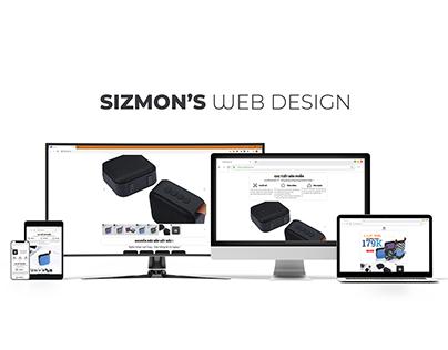 Sizmon's web