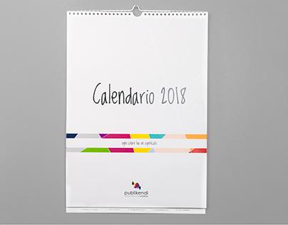 Publikendi - Calendario 2018